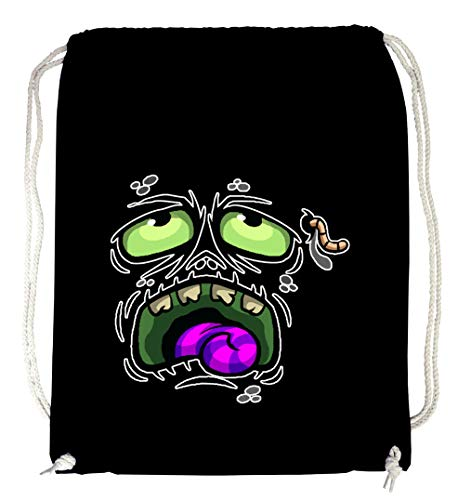 Certified Freak Hangover Face Gymsack Black