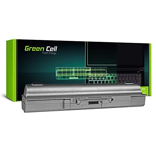 Green Cell® Extended Serie VGP-BPS13 VGP-BPS13/S VGP-BPS13/B VGP-BPS13/Q VGP-BPL13 VGP-BPS21 VGP-BPS21A VGP-BPS21B Batería para Sony Vaio Ordenador (9 Celdas 6600mAh 11.1V Plateado)