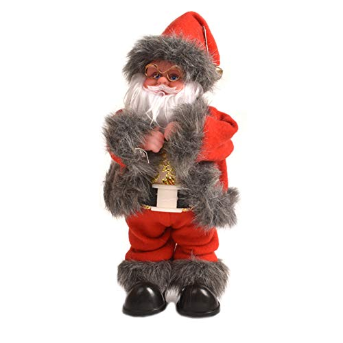 Zebery Twerking Santa Claus, Shaking Hips Santa Claus Singing Dancing Christmas Santa Claus Toys Xmas Electric Dolls for Kids