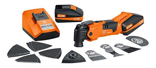 FEIN AFMM18QSL FEI71292261240 Multi-Master Cordless Drill, 18 V, Orange