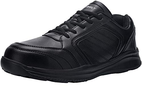 DYKHMILY Impermeable Zapatillas de Seguridad Hombre S3 SRC Antideslizante Zapatillas de Trabajo con Punta de Acero Transpirable Botas de Seguridad