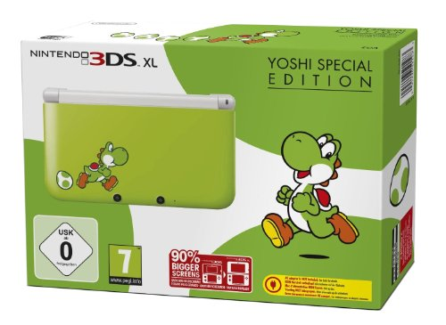 Nintendo 3DS XL - Konsole Yoshi Special Edition