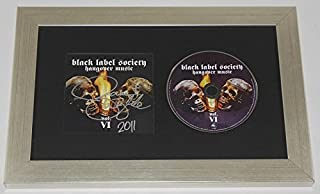 Black Label Society Hangover Music Zakk Wylde Signed Autographed Music Cd Cover Compact Disc Framed Display Loa