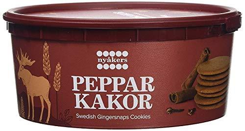 NYAKERS - Zenzero svedese in vasca, 300 g