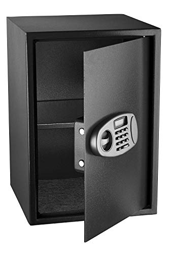 AdirOffice Security Safe with Digital Lock, Black, 2.32 Cubic Feet