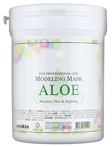 240g Modeling Mask Powder Pack ALOE for Soothing by Anskin