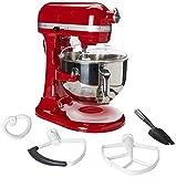 KitchenAid KP26M1XER 6 Qt. Professional 600 Series Bowl-lift Stand Mixer Empire Red Caja Corrugada