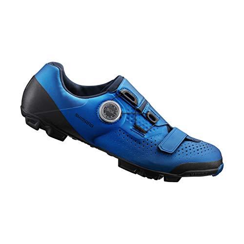 SHIMANO SH-XC501 High Performance XC Mountain Bike Shoe, Blue, 46