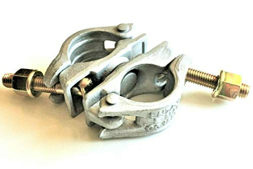 1 x Drehbare Kupplung 48,3 mm SW22 EN74-B 1,4 KG Gerüstkupplung Drehkupplung für Gerüst NEU
