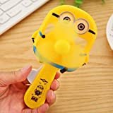HLJ Mini lustig Minions Handdruck Ventilator tragbare for Kinder Karikatur-Handventilator in dem...