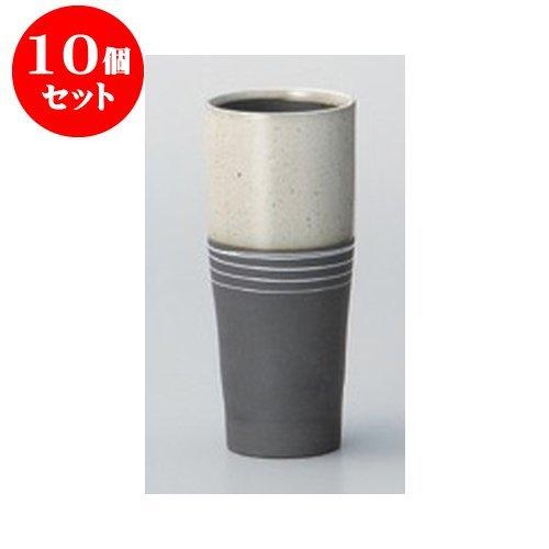 10個セット 酒器 ノッポビール白 [6.8 x 15.8cm・350cc] 【料亭 旅館 和食器 飲食店 業務用 器 食器】