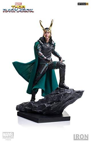 Iron Studios Thor Ragnarok Loki Battle Diorama Figure image