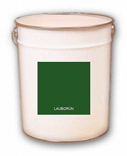 5 Liter grün Laubgrün Acryl Dachfarbe Dachanstrich Ziegelfarbe Dachbeschichtung Metalldach Blechdach Acrylat Basis
