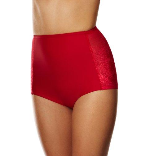 Triumph Damen Miederhose, Cool Sensation Hig Panty , Gr. 36, Rot (MARS RED (42))