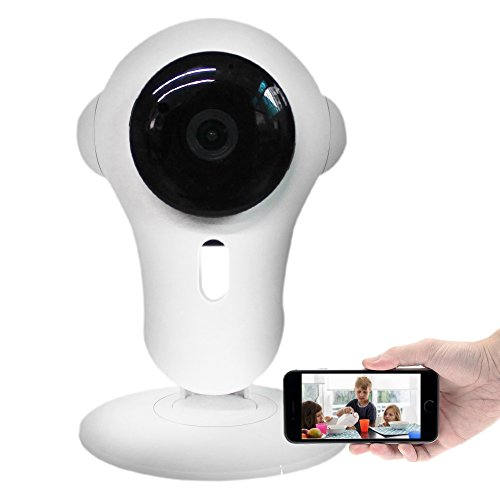 Kapoo 720P intelligente Überwachungskamera, drahtlose Wi-Fi Kamera...