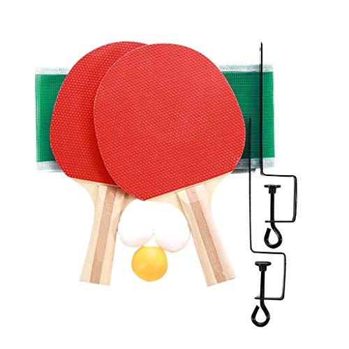 Why Choose Fullfun Ping Pong Paddle Set (2-Player Bundle), Premium Rackets, 3 Balls, 1 Portable Tabl...