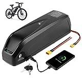 H HAILONG Ebike Battery 48v 15ah for Electric Bike/Bicycle Motor Kit, which 48 Volt Lithium Battery Charger, for 500W 750W 1000W Electric Mountain Bike/Motor for Bicycle/Electric Bike kit(48V 15ah)