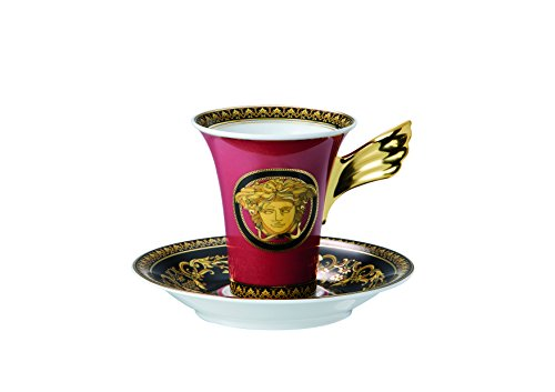 Rosenthal Versace Medusa Kaffeetasse 2tlg.