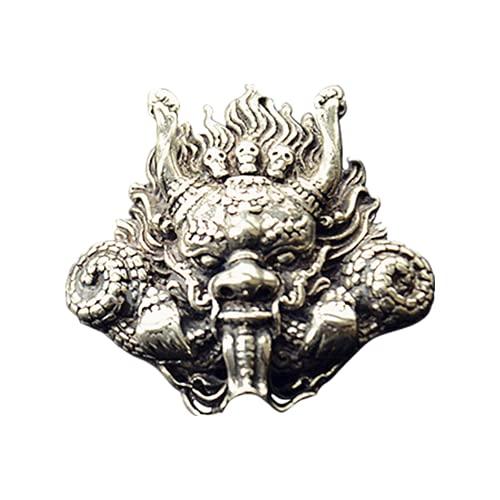 Garuda Bird - Botón de metal retro de latón antiguo para pantalones vaqueros de cobre y chaqueta con botones...
