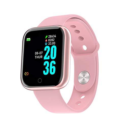 Smart Bracelet D20 - Reloj de pulsera con pantalla a color, frecuencia cardíaca, monitor de sueño, ejercicio, podómetro, pulsera inteligente