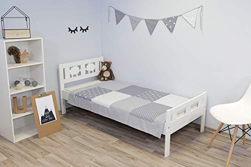 ULLENBOOM ® Baby Patchworkdecke (100x140 cm)