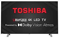 TOSHIBA 108 cm (43 inches) Vidaa OS Series 4K Ultra HD Smart LED TV 43U5050 (Black) (2020 Model) | with Dolby Vision and Atmos,Hisense,43U5050