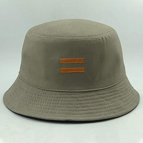 Nuevo Sombrero de Pescador Coreano Moda cmodo Sombrero de Lavabo Hombres y Mujeres Pareja Sombrero de Lavabo Red Sombrero Rojo