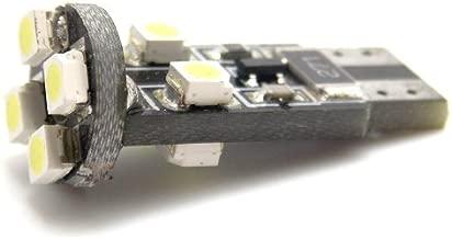 Led Maximum 2 pcs Xenon White 8-SMD Error Free LED 5050 T10 Back Up Lights 2825 168 194 #5-2