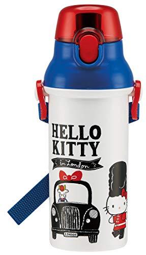 Botella de Agua 480ml de los niños Patinador Hello Kitty de Sanrio del Gatito Londres Hace en Japón PSB5SAN