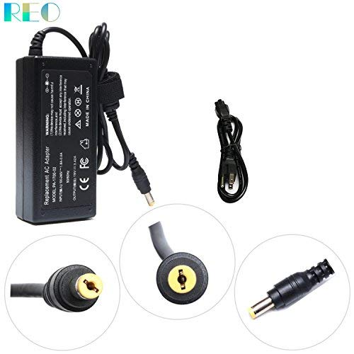 65W AC Power Supply for Acer LCD Monitor H236HL SA230 G276HL S230HL G246HL G206HQL S271HL S240HL G236HL S220HQL S242HL G226HQL S202HL G237HL S231HL S232HL S241HL H226HQL Adapter Charger Power Cord