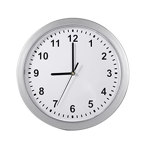 Kuuleyn Reloj de Pared con Caja Fuerte Oculta, Reloj de Pared Secreto Oculto Caja de contenedor Seguro para Guardar Dinero, Joyas, Objetos de Valor, Almacenamiento en Efectivo