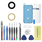 OKBICHI Reemplazo de cristal de la lente de la cámara trasera para el iPhone XR - Herramientas de reparación con protector de pantalla