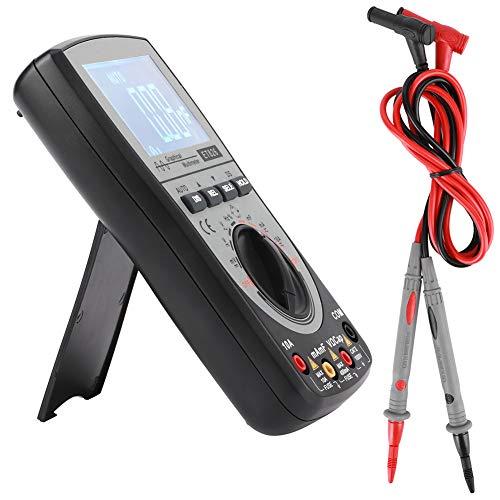 Socobeta Probador de osciloscopio multímetro de Resistencia Osciloscopio de Almacenamiento Calibración de Panel Digital 2 en 1 para Electricista para el hogar