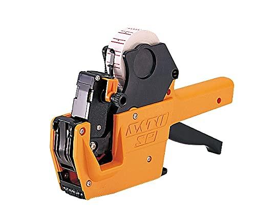 ハンドラベラー SP 本体+黄ベタラベル10巻セット 本体印字: 8L-20 ラベル: 黄ベタ/強粘 インク付属