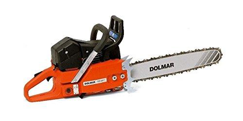 Dolmar PS9010-50 Motosega a Benzina, 50 cm, 0 W, 0 V, Nero, Arancione, Acciaio Inox