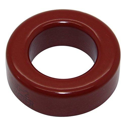T130-2 Ferrit: Ring L: 11,1mm ØInn: 19,8mm ØAußen: 33mm 11nH MICROMETALS