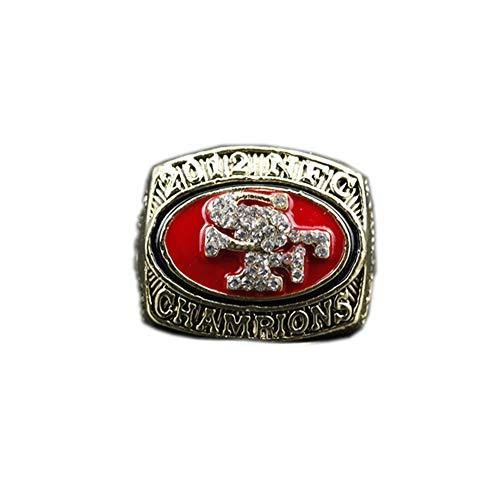 Fei Fei 2012 San Francisco 49ers Championship Ring Campeonato Anillo para los fanáticos de los Hombres de la colección Regalo de visualización campeón del Recuerdo de réplica,Without Box,11#