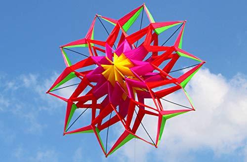 ADGSSJ Kite, Style 3D Blumendrachen mit GrifflinieGood Flying, China
