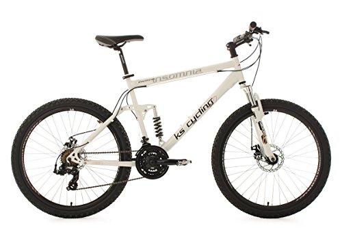 KS Cycling Mountainbike vollgefedert 26\'\' Insomnia weiß RH50cm