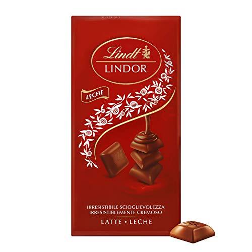 Lindt Lindor Singles Tableta de Chocolate con Leche Cremoso, 100g