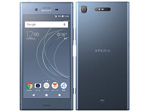 SONY(ソニー) Xperia XZ1 64GB ムーンリットブルー SOV36 auロック解除SIMフリー