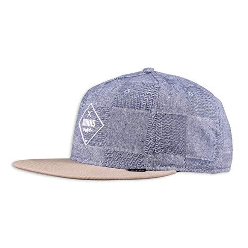 Djinns - Checkfish (Blue) - Snapback Cap Baseballcap Hat Kappe Mütze Caps