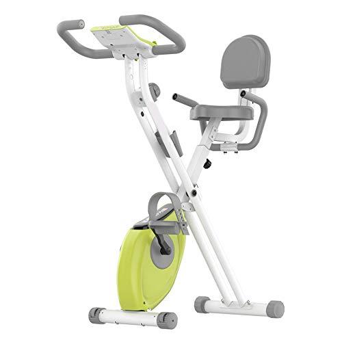 OUYA Bicicleta Estática para Interiores Y Exteriores, Bicicleta Estática con Soporte para iPad, Cómodo Cojín De Asiento para Entrenamiento En Casa