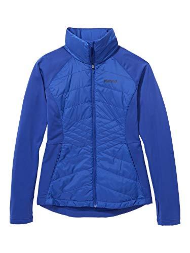 Marmot Damen Fleecejacke, Outdoorjacke, Atmungsaktiv Wm's Variant Hybrid Jacket, Royal Night, L, 79830