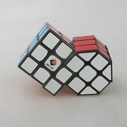 Cubo Combinado cilíndrico de Tercer Orden Speed Cube Puzzle Cube Twisted Brain Teaser Juguetes educativos Mejor Regalo para niños, Alien Cube