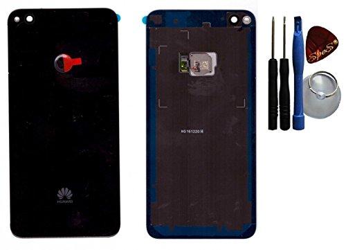 Tapa de la batería, parte posterior, cubierta de la batería para Huawei P8 LITE (2017) Nero /Sensor/ lámina adhesiva/ herramientas