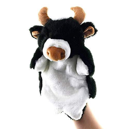 siyat Tier-Plüsch-Handpuppen Soft Toy Kuh Form Plüsch Doll Story Spielpuppen Handpuppe Plüschtiere for Kinder Geschenke, Farbe: Znnl049-20 Jikasifa-UK (Color : Ztda060-03)