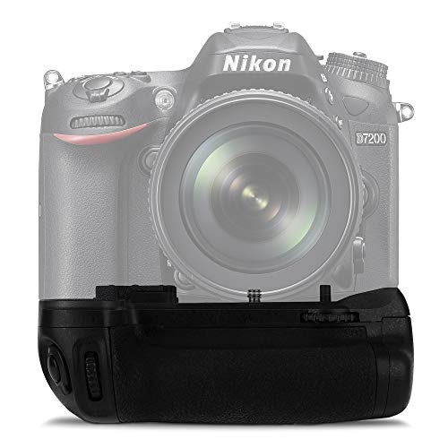 CELLONIC® MB-D15 Impugnatura/Presa Batteria Compatibile con Nikon D7100, D7200 Presa Verticale, Battery Grip