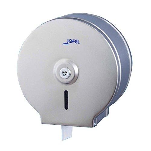 Jofel ae21000 Classic Toilettenpapierhalter, Edelstahl, 300 m
