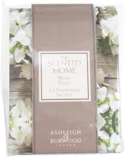 Ashleigh&Burwood サシェ×3個 ホワイトベルベット Sachet×3 White Velvet アシュレイ&バーウッド